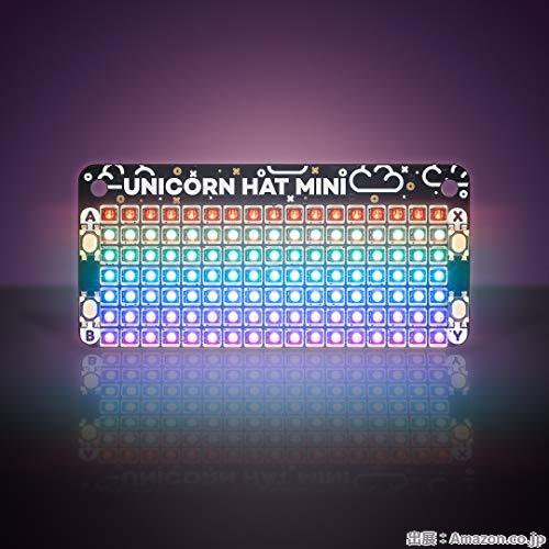 Pimoroni Unicorn HAT Mini - ユニコーン ハット ミニ
