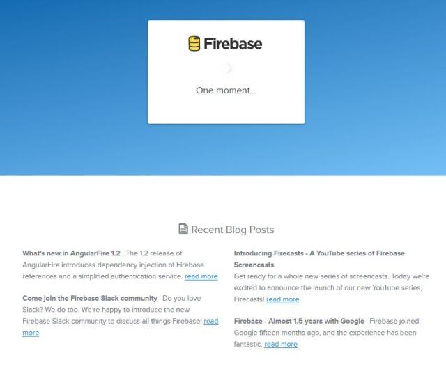Google アカウントでログインしてFirebaseにアクセスする
